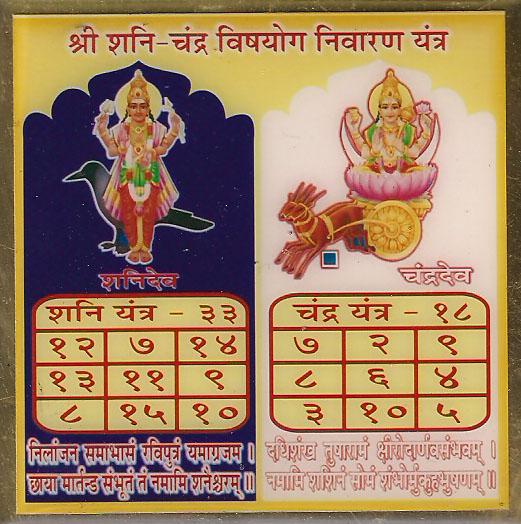 ShaniChandraYantra